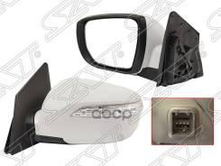 Зеркало Hyundai Tucson/Ix35 10-15 Lh Рег-Ка, Поворот, 5 Конт. Sat арт. ST-HN51-940-2, левое