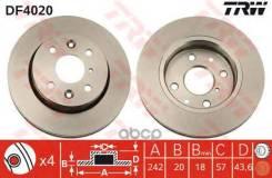 Диск Тормозной Передний! Kia Sephia 1.5-1. TRW/Lucas арт. DF4020 Df4020_