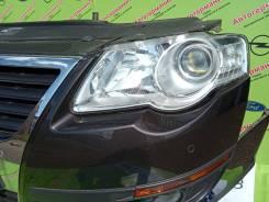 Фара левая (галоген) Volkswagen Passat B6 (05-10г) Valeo