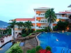 Санья. Пляжный отдых. Бюджетный пляжный отель Guest House International Dadonghai 4*!