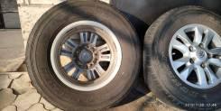 """Оригинальные колеса от Toyota Land cruser 200 285/65R17. 8.0x17"""" 5x150.00 ET60 ЦО 110,0мм."""