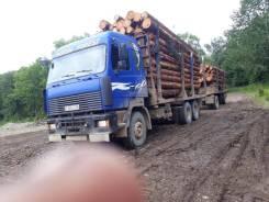 МАЗ 6312. Лесовоз, 6x4
