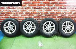 """Штатное литье Subaru R16 + Резина на докатку ''16 [Turboparts]. 6.5x16"""" 5x100.00 ET55"""