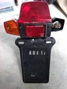 Брызговик задний с поворотниками, стоп-сигналом и кронштейном.