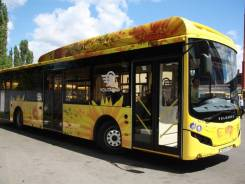 Volgabus. Автобус городской полунизкопольный (60% площади), Метан, 111 мест