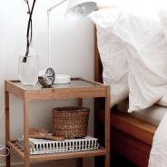 НЕСНА Прикроватный столик, 36*35см, ИКЕА, в наличии