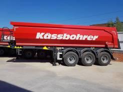 Kassbohrer. Полуприцеп DL самосвальный, 31 000кг.