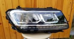 Фара Volkswagen Tiguan 2, LED, правая