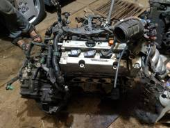Двигатель в сборе. Honda Odyssey, RB1, RB2 Honda CR-V, RD6, RE4, RE, RE3, RD7, RE7 Honda Element, YH1, YH2 K24A, K24A1, K24Z1, K24Z4, K24A8, K24A4