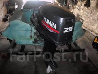 Yamaha. 21,00л.с., 2-тактный, бензиновый, нога S (381 мм), 2005 год