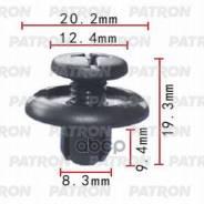 Клипса Пластмассовая Acura, Honda Применяемость: Крыло - Фиксатор PATRON арт. P370061