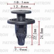 Клипса Пластмассовая Acura, Honda Применяемость: Бампер, Защита, Крылья Patron арт. P370088