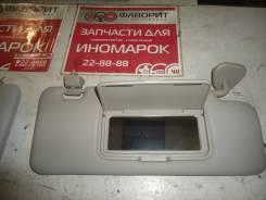 Козырек солнцезащитный пассажирский для Zotye T600