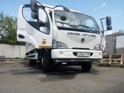 Ashok Leyland Boss. Индийский грузовик Ashok Leyland, 6 700куб. см., 7 870кг., 4x2