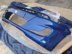 Бампер передний новый (синий / WGM) Hyundai Solaris 11-14г