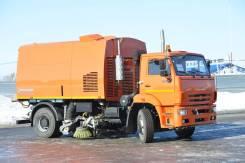 Кургандормаш КО-318Д. на шасси Камаз-53605 ВМ, ПУМ (пылесос), 6 700куб. см.