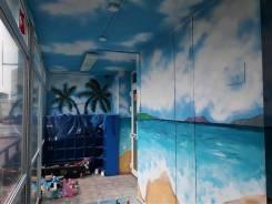 """Художественная роспись стен. Граффити. Команда художников """" Восток """""""