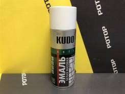 Краска-спрей эмаль (белая-матовая) KUDO KU-1101 520 мл