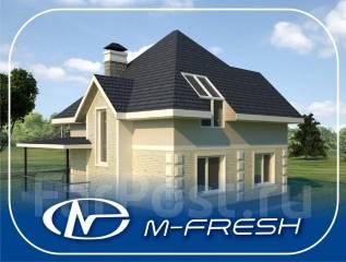 M-fresh Simple (Вы хотите жить на природе в своём доме? ). 100-200 кв. м., 2 этажа, 4 комнаты, бетон