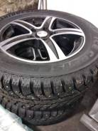 Bridgestone Ice Cruiser 7000. зимние, шипованные, б/у, износ 5%