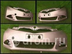 Бампер передний Toyota Ractis 120 серебро 1модель 001574