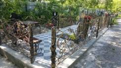 Ритуальные изделия кресты, ограды
