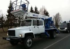 Випо-18. АГП ВИПО-18-01 (ГАЗ-33088, 2-х рядная кабина), 18,00м.