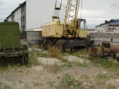 Юрмаш Юргинец КС-4361А. Кран на пневмоходу КС-4361А