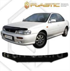 Дефлектор капота Subaru Impreza GC1 - GC8 1992-2000 (Мухобойка) 37