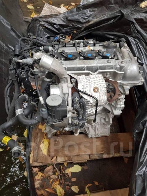 Двигатель G4FJ Hyundai 1.6B с навесным тестовый