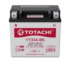 Акб Totachi Moto Ytx14-Bs 14 А/Ч R Agm TOTACHI арт. 4589904523342