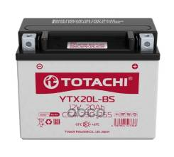Акб Totachi Moto Ytx20l-Bs 20 А/Ч L Agm TOTACHI арт. 4589904523366