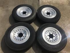 195/80 R15 LT Bridgestone R670 литые диски 6х139.7 (L28-1525)