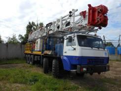 Агрегат подъемный для ремонта и бурения скважин АПР-80 на шасси ППС-5. 14 860куб. см.