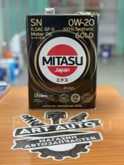 Mitasu Gold. 0W-20, 4,00л.