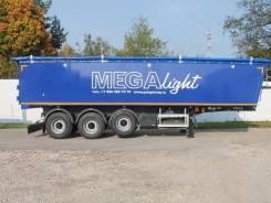MEGA. Полуприцеп MNW 4 (самосвальный алюминиевый квадратный), 40 000кг.