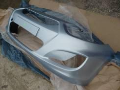 Бампер передний новый (голубой мет. / VEA) Hyundai Solaris 11-14г