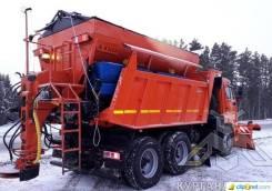 Кургандормаш МД-651. Продается комбинированная дорожная машина МД-651 на Шасси Камаз 65115, 6 700куб. см. Под заказ