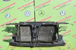Радиатор охлаждения двигателя. Audi 80, 8C/B4 1Z, 6A, AAH, AAZ, ABC, ABK, ABM, ABT, ACE, ADA, ADR, NG