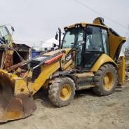 Caterpillar 428F. Экскаватор-погрузчик CAT428f 2013