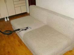 Химчистка мягкой мебели дивана матраса ковра