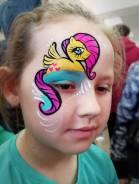 Отличный аквагрим, рисунки на лице, фейс-арт на день рождения, праздник