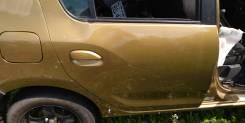 Дверь Renault Sandero, правая задняя 5S, K4M 2012=>