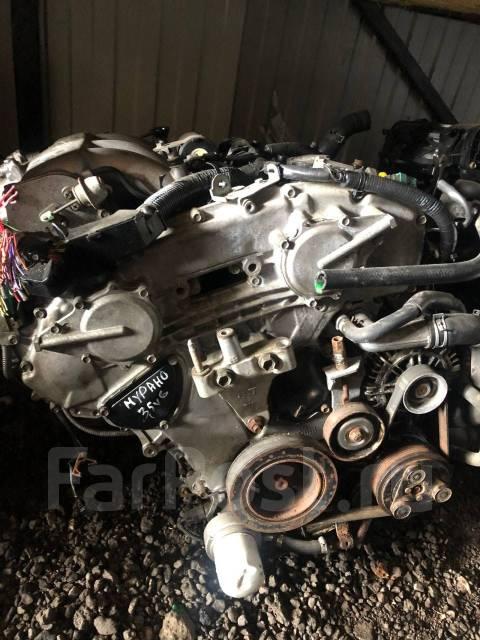 Контрактный (б у) двигатель Nissan Murano 06 г. VQ35DE 3.5 л. V6