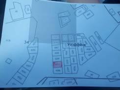 Зем. участок 10 соток, р-н Слободы. 1 000кв.м., собственность, электричество. План (чертёж, схема) участка