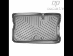 Коврики В Багаж. Отдел. Opel Corsa C (Hb) (2000-2006) Черн Полиурет Шт Norplast арт. npl-p-63-12