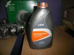 Моторное масло ЛАДА п/синт. 5W40, полусинтетическое, 1,00л.