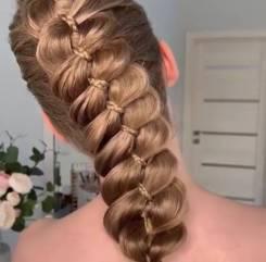 Плетение кос, прически, локоны
