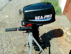 Sea-Pro. 5,00л.с., 2-тактный, бензиновый, нога S (381 мм), 2012 год