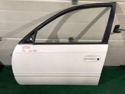 Дверь передняя левая Toyota Caldina ST215W цвет 051